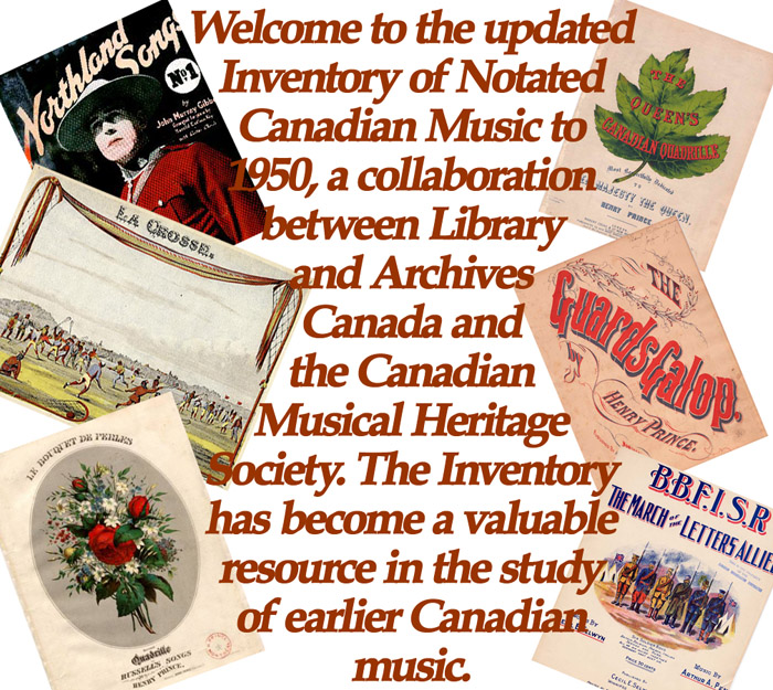 Inventory of Notated Canadian Music
